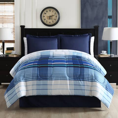 Lemon & Spice Anderson Plaid Reversible Bed in a Bag