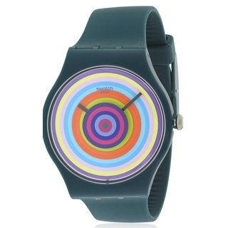 Swatch Toupie Silicone Unisex Watch