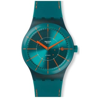 Swatch Unisex SUTG400 Sistem Green Automatic Watch