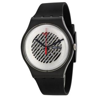 Swatch On The Grill Unisex Black Watch
