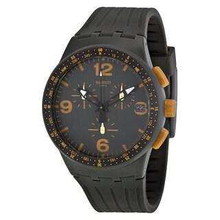 Swatch Gordon Men's Black Silicone Watch