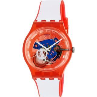 Swatch SUOR102 Clownfish Unisex Red Watch
