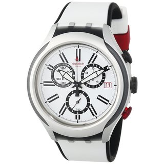 Swatch Men's Black Wheel Watch