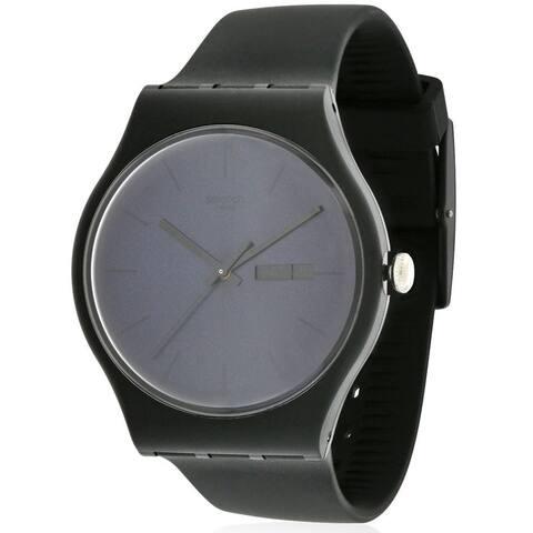 Swatch Men's SUOB702 'Black Rebel' Watch