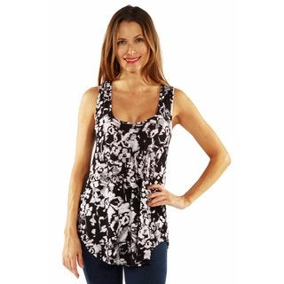 24/7 Comfort Apparel It's Your Move Tunic Top