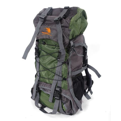 Free Knight SA008 60L Outdoor Waterproof Hiking Camping Backpack Green