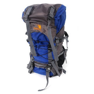 Free Knight SA008 60L Outdoor Waterproof Hiking Camping Backpack Blue