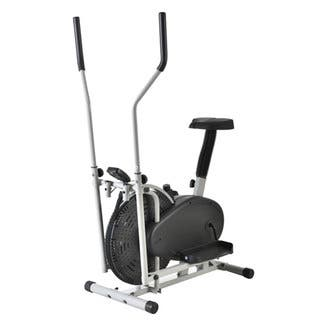 Intelligent Steel Elliptical Cross Trainer & Bike Fitness Equipment B Type - Black|https://ak1.ostkcdn.com/images/products/14602796/P21146773.jpg?impolicy=medium