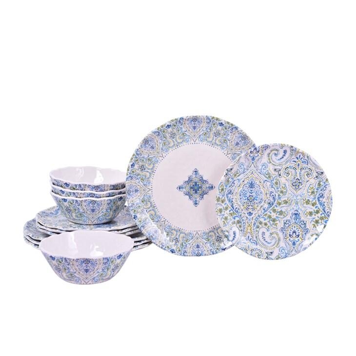 222 Fifth Cashmeira 12-piece Dinnerware Set (Cashmeira 12...