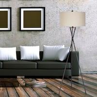 Fangio Lighting's #1538 63.5 inch Tripod Rust Black Metal Floor Lamp