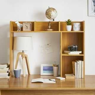 Link to The Classic - Desk Bookshelf - Beech (Natural Wood) Similar Items in Desk Accessories