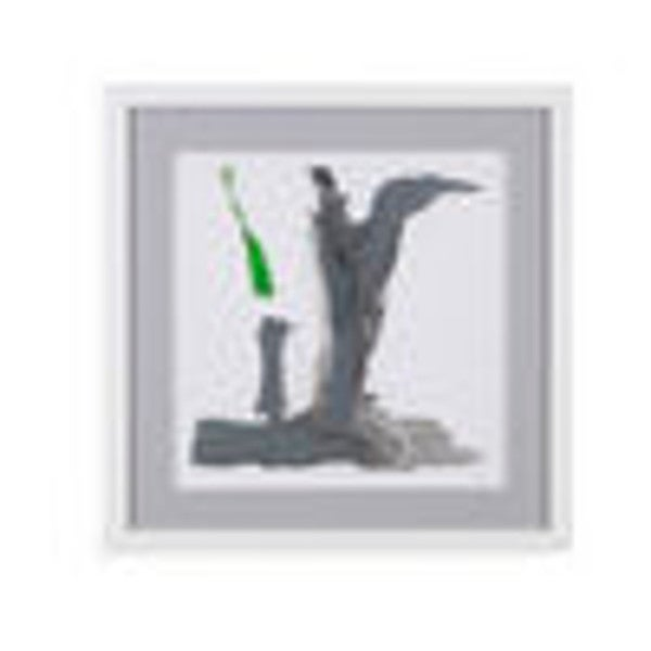 Shop Bassett Mirror Company \'Minimal VI\' Framed Wall Art - Free ...
