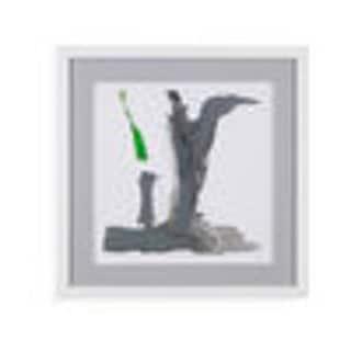 Bassett Mirror Company 'Minimal VI' Framed Wall Art