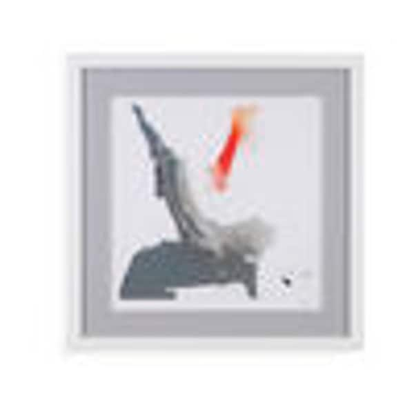 Bassett Mirror Company 'Minimal II' Framed Wall Art