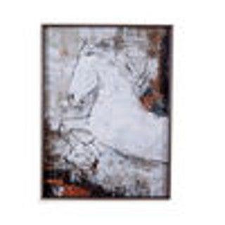 Bassett Mirror Company 'Contour Horse I' Framed Print