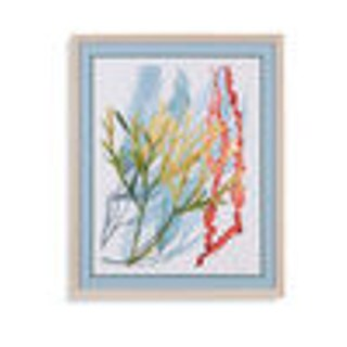 Bassett Mirror Company 'Seaweed Flow II' Framed Wall Art