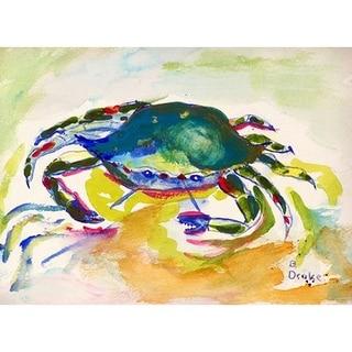 Green Crab Door Mat