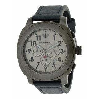 Emporio Armani Men's AR6086 Sport Leather Watch