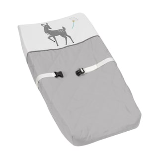 Sweet Jojo Designs Changing Pad Cover for the Forest Deer Collection