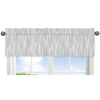 Sweet Jojo Designs Coral and Mint Woodsy Collection Window Valance