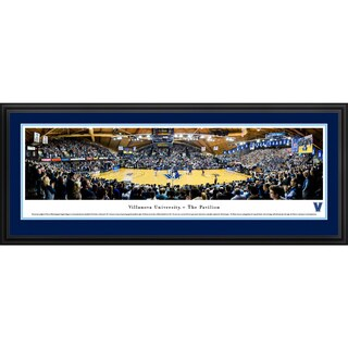 Villanova Basketball - Blakeway Panoramas Framed Print (3 options available)