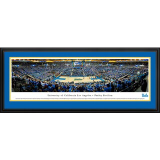 UCLA Bruins Basketball - Blakeway Panoramas Framed Print (3 options available)