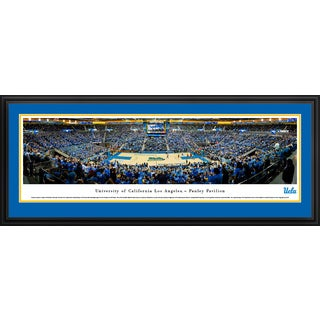 UCLA Bruins Basketball - Blakeway Panoramas Framed Print