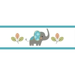 Sweet Jojo Designs Mod Elephant Collection Wallpaper Border