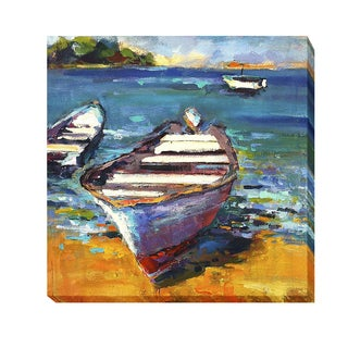 Boat by Page Pearson Railsback Gallery-wrapped Canvas Giclee Art