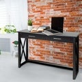Bay View Modern X-Detail Console Table