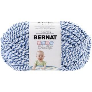 Baby Blanket Twists Big Ball Yarn-Blue Twist