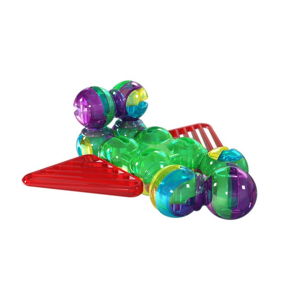 Lite Poppers STEM Learning 2-in-1 Plane Construction Toy Kit