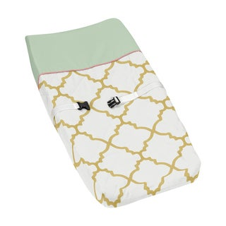Sweet Jojo Designs Ava Collection Changing Pad Cover