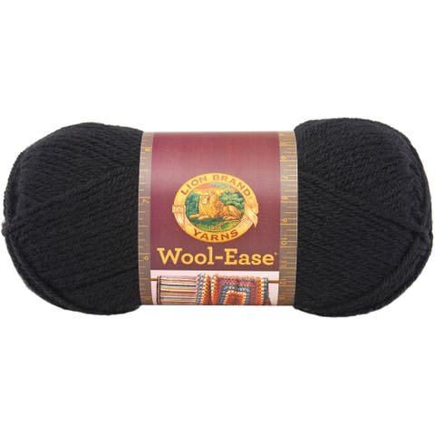 Wool-Ease Yarn -Black