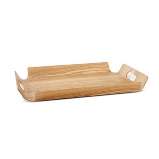 IMPULSE! Ingrid Natural Wood Large Tray