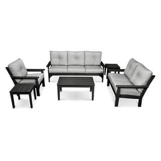 Polywood Vineyard Outdoor 6-piece Deep Seating Set|https://ak1.ostkcdn.com/images/products/14603973/P21147822.jpg?impolicy=medium