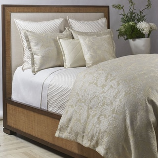 Ann Gish Platinum Arabesque Duvet Set