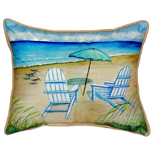 Adirondack Small Indoor/ Outdoor Throw Pillow