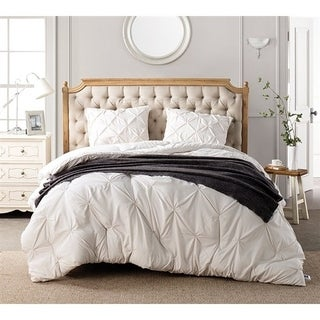 BYB Jet Stream Pin Tuck Comforter Set