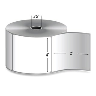 4-inch x 2-inch 0.75-inch Core Direct Thermal Shipping Label (360 Rolls)