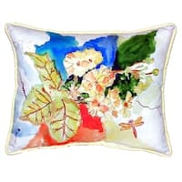 Primrose Small Indoor/ Outdoor Throw Pillow
