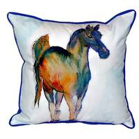 Colt Small Indoor/ Outdoor Throw Pillow