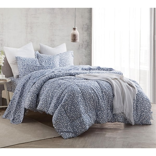 Shop Byb Dawning Grey Comforter Set Free Shipping Today