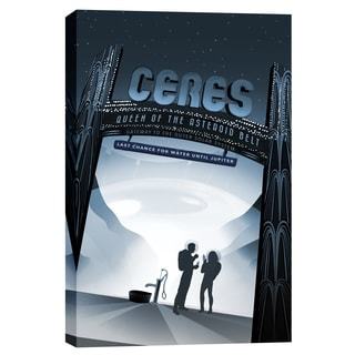 Epic Graffiti 'Visions of the Future: Ceres' Giclee Canvas Wall Art
