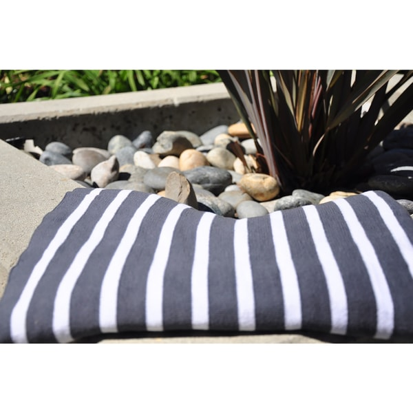 Pink Lemonade Beach Collection Stripe Throw