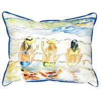 Bottoms Up Small Indoor/ Outdoor Throw Pillow
