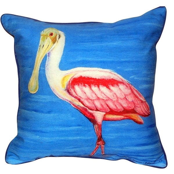 Shop Dicks Spoonbill Small Indoor Outdoor Throw Pillow - Free Shipping On Orders -4137