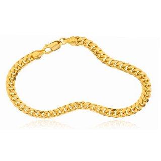 10k Gold 6-millimeter 9-inch Hollow Miami Cuban Bracelet