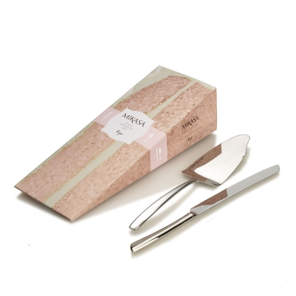 Mikasa Kya 18.10 Stainless Steel Cake Tools (Set of 2)