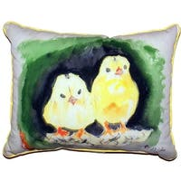 Chicks Small Indoor/ Outdoor Throw Pillow